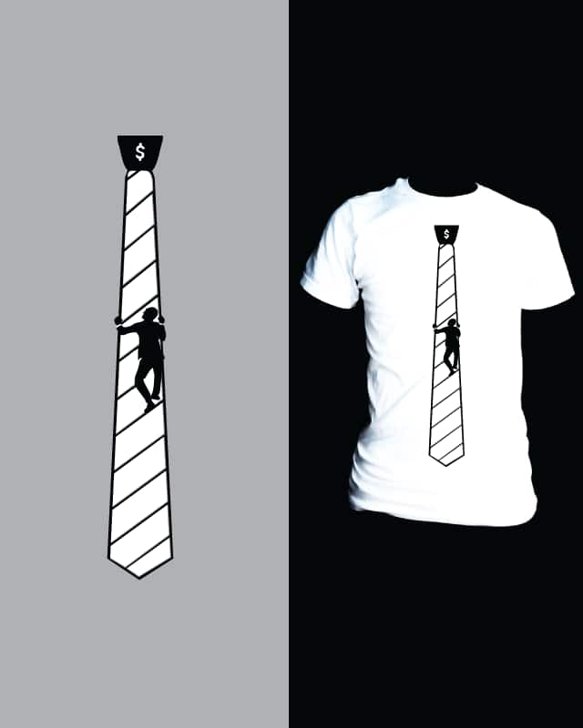 Corporate Ladder Tie by nathanwpyle at gmail.com on Threadless