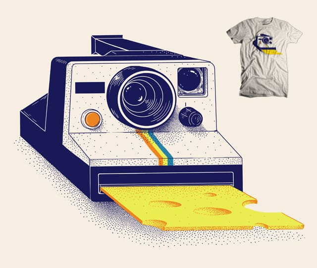 Cheese! by jillustration on Threadless