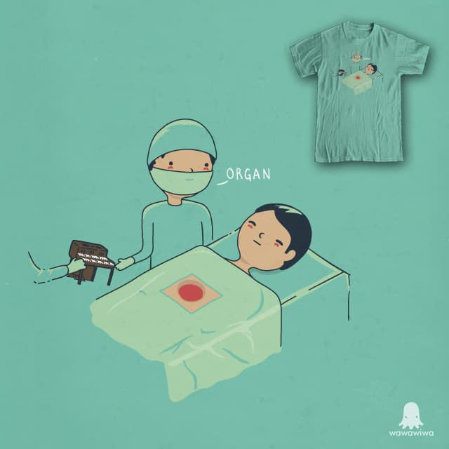 Organ Transplant by wawawiwa on Threadless