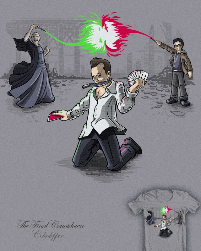 The Final Countdown by colinlepper on Threadless