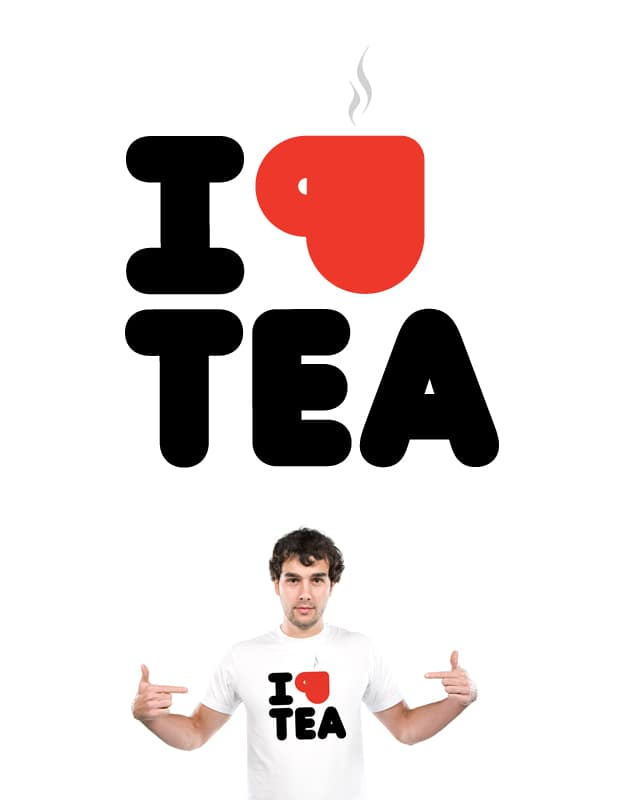 "I Love Tea ""Tea - Shirt"" by nigelpayne on Threadless"
