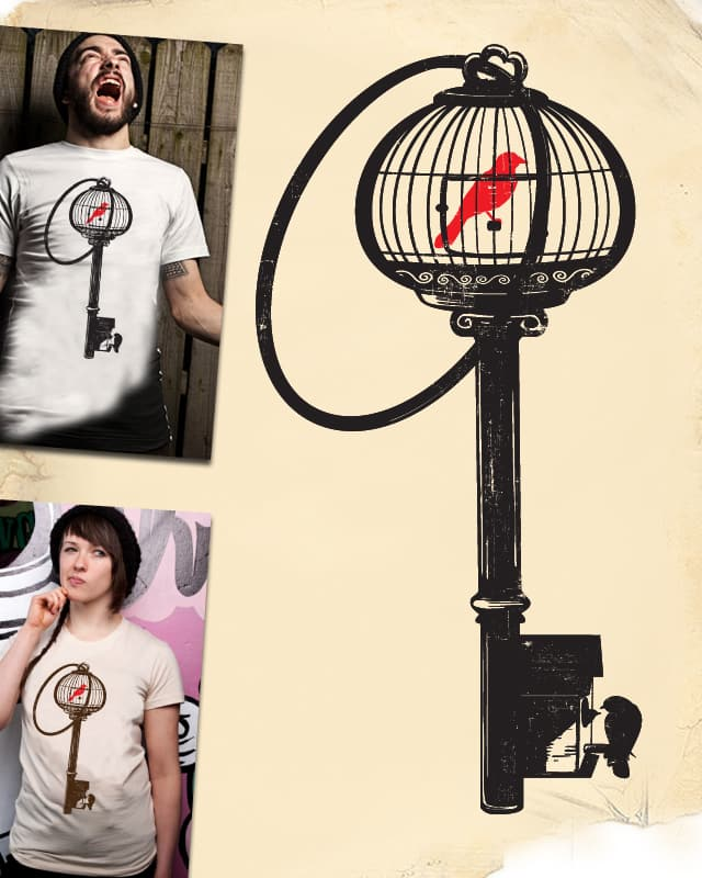 The Key of Freedom by Jemae on Threadless