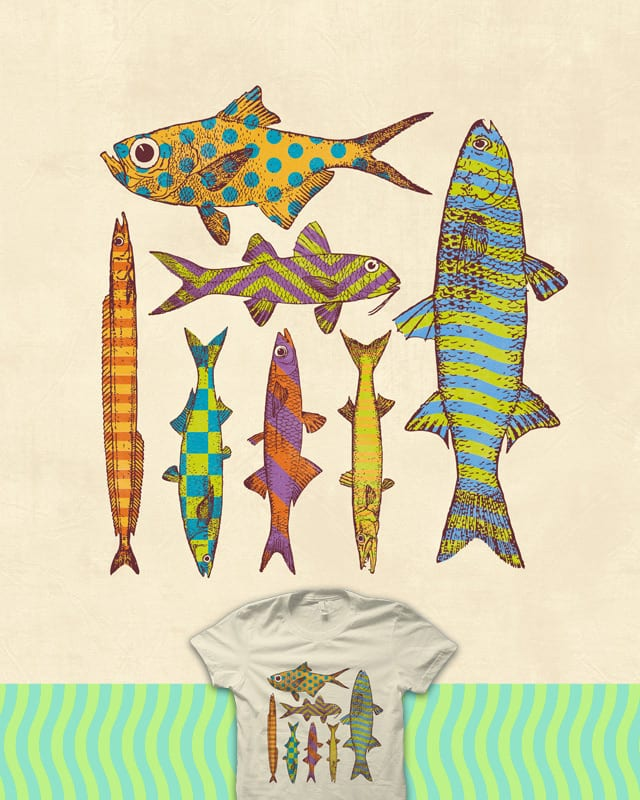 Freshwater Freaks by quick-brown-fox on Threadless
