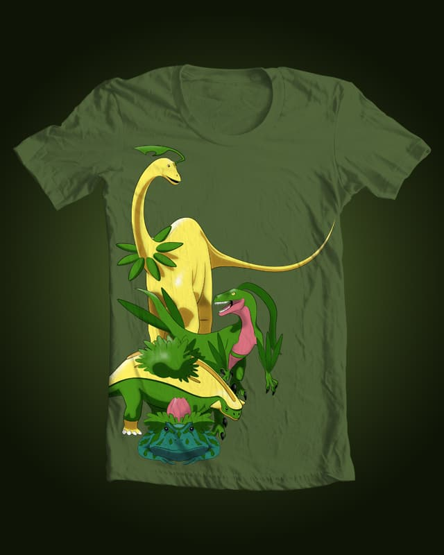 Grassiosaurs by trekvix on Threadless