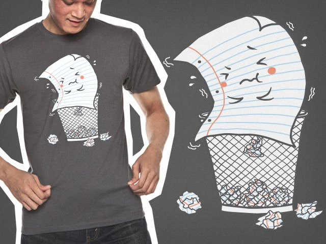 Sh*t of Paper by Robo Rat on Threadless