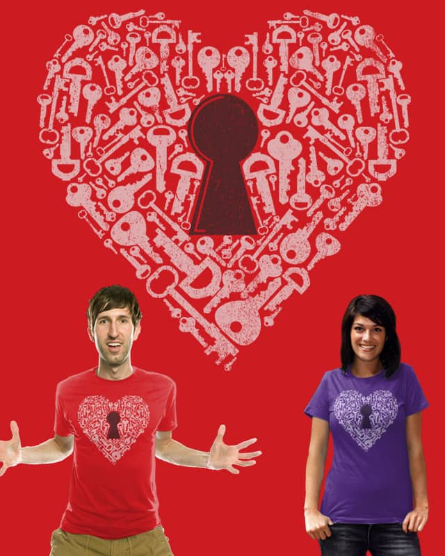 The Key to my heart by fathi on Threadless