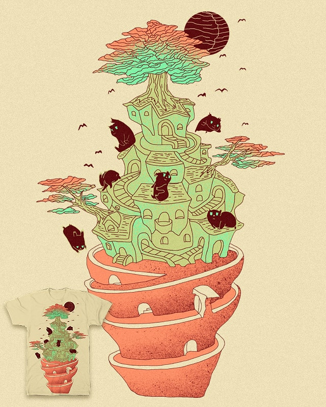 Once upon a Tree Village ... by shesmatilda on Threadless