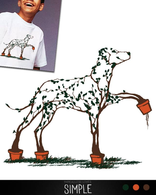 Dalmation by Jemae on Threadless