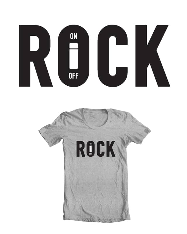 Rock On by Haasbroek on Threadless