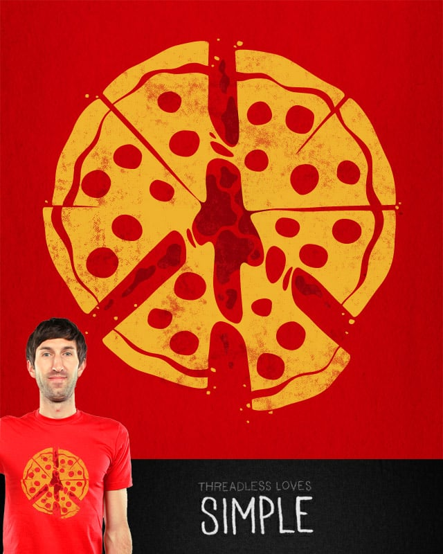 PIZZA! by Pez Banana on Threadless