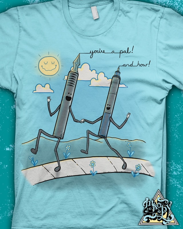 Pen Pals by nikoby on Threadless