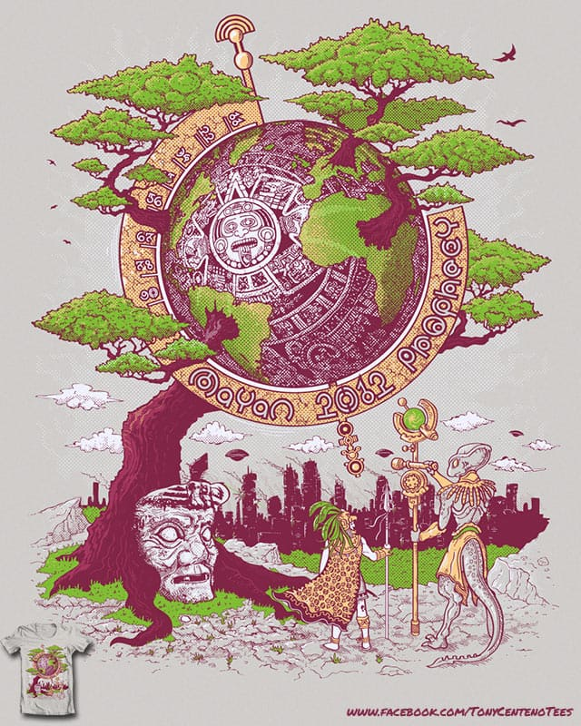 2012 Mayan Prophecy by Tony Centeno on Threadless