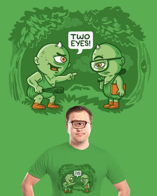 Two Eyes by ibyes on Threadless
