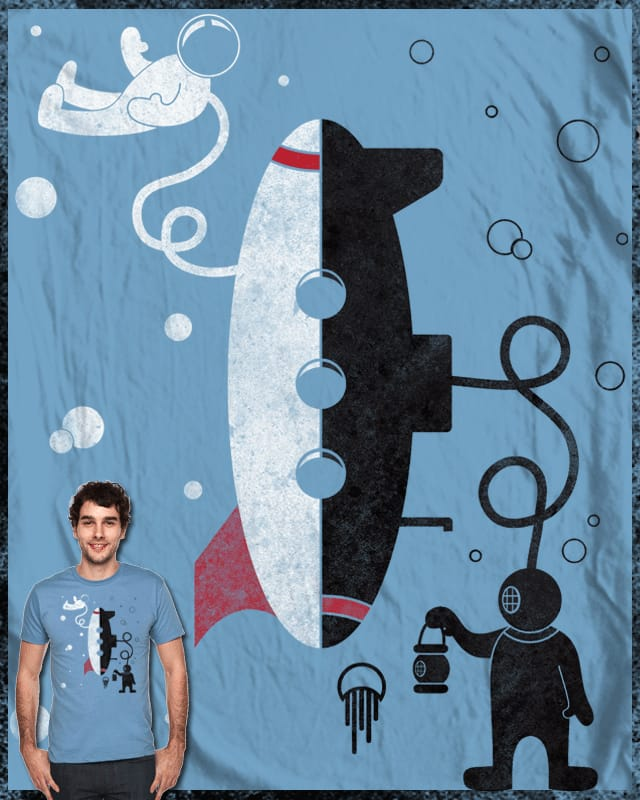 Blast Off & Prepare For Dive! by BeanePod on Threadless