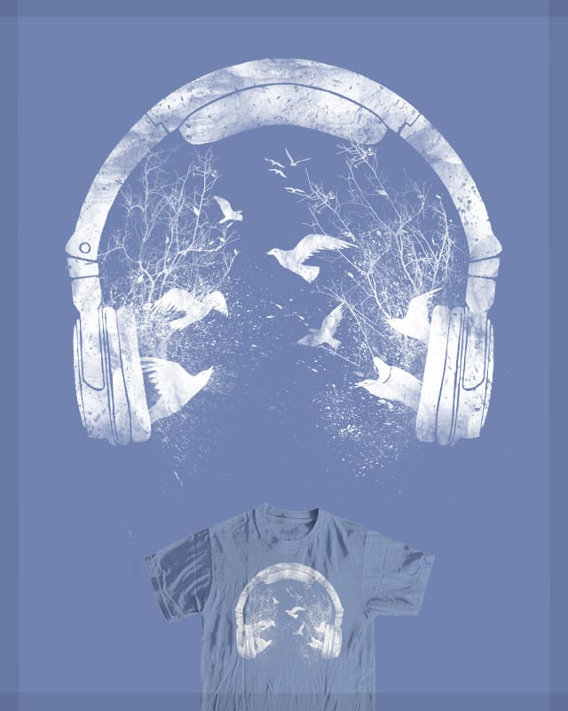 Headphone by barmalisiRTB on Threadless