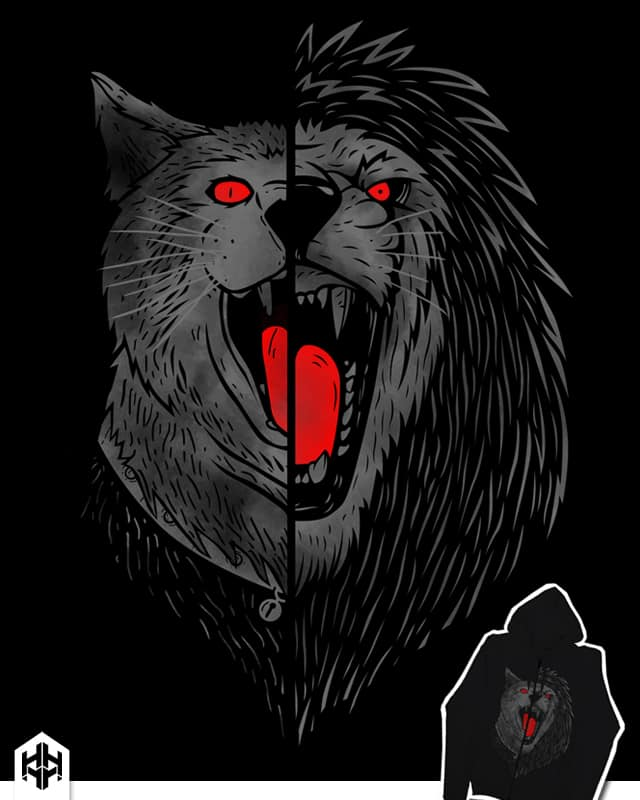 heart of lion by sayahelmi on Threadless