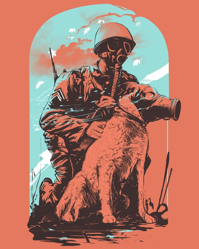 Dogs of War by iamrobman on Threadless