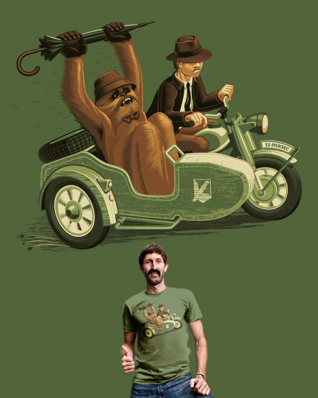 Comic Connery by d3d on Threadless