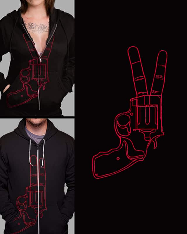 Peace Bang by nicebleed on Threadless