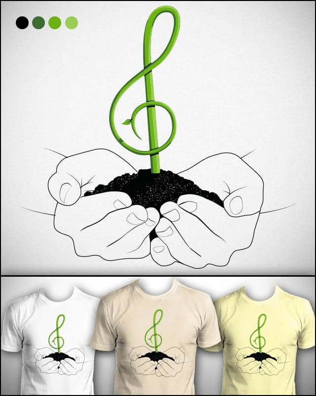 Preserve the Music by yurilobo on Threadless
