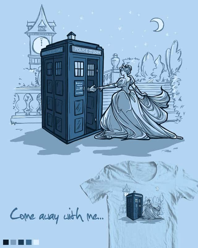 Come Away with Me by khallion on Threadless