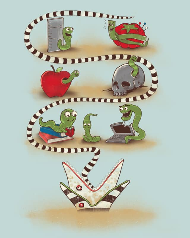 WORMS by soloyo on Threadless