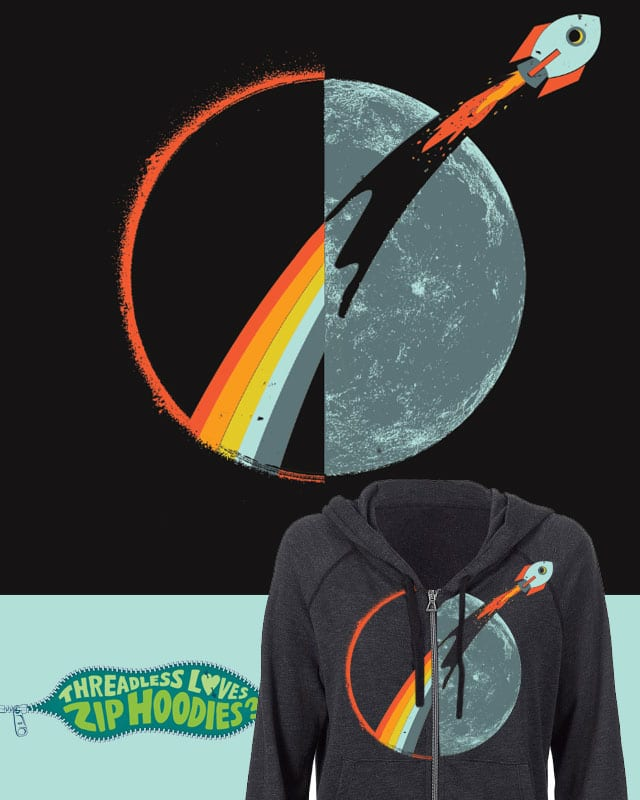 blast off! by campkatie on Threadless