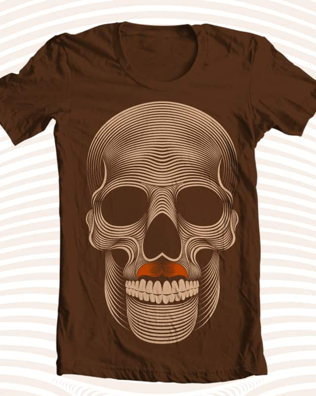 Movember de los muertos by Patrick Seymour on Threadless