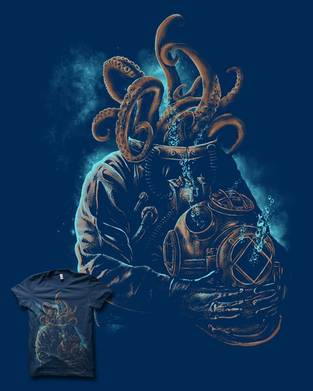Madness Of the Deep by biotwist on Threadless