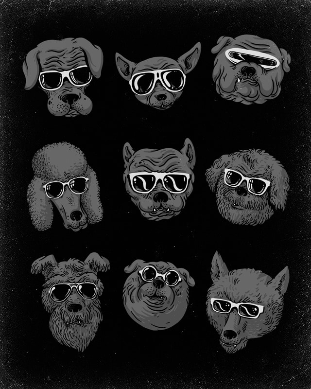 Dogs by alexmdc on Threadless
