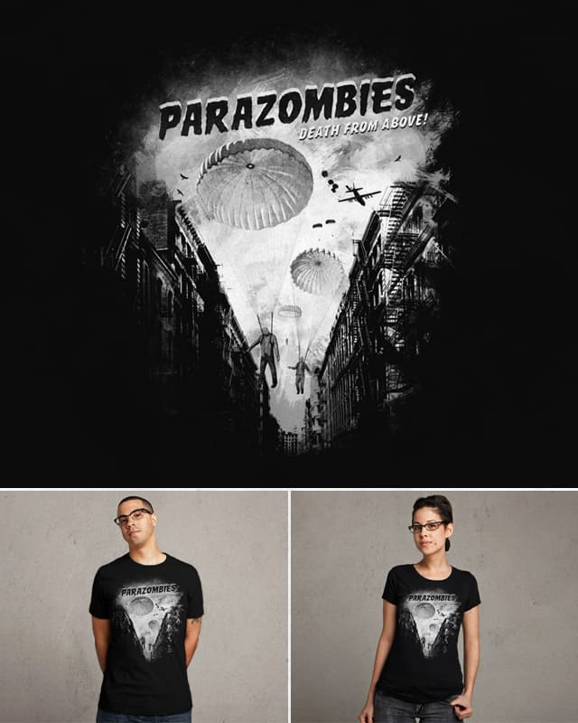 Parazombies by speakerine on Threadless