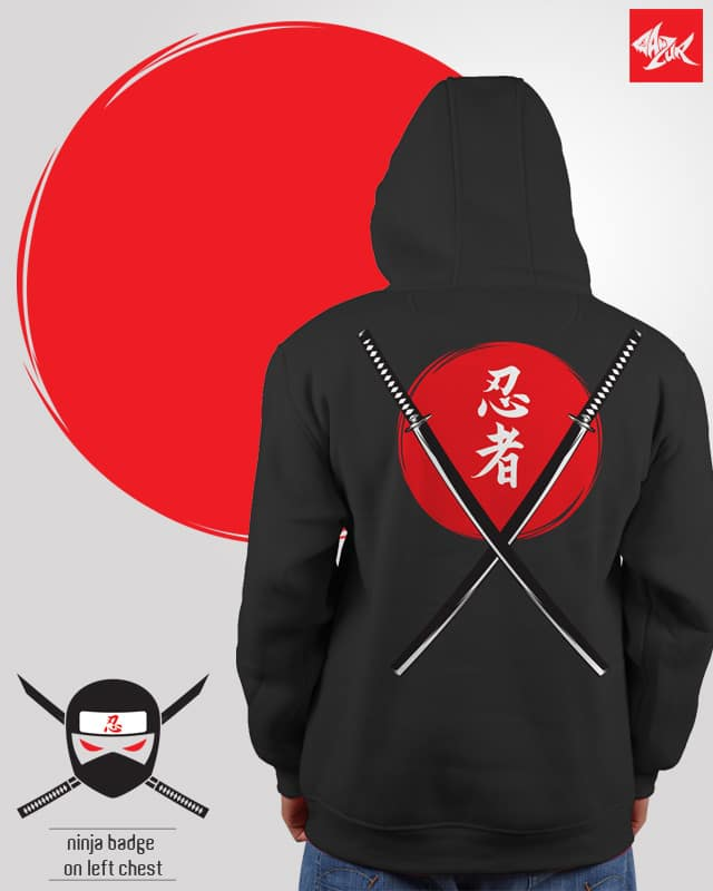 wanna be ninja by ghozai on Threadless