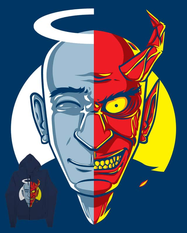 two sides of human nature by sayahelmi on Threadless
