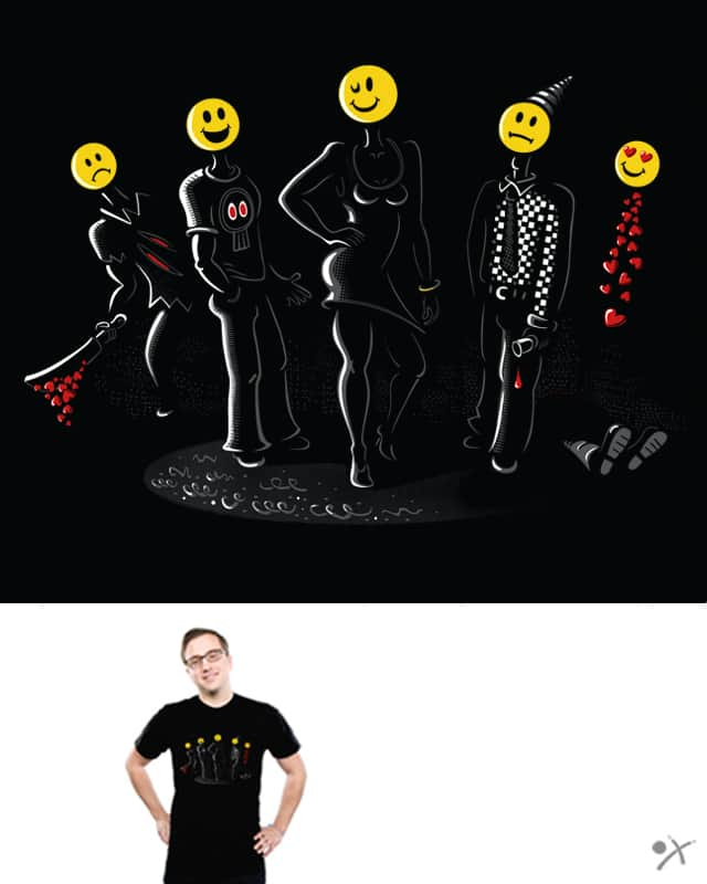 Story behind smiles by chobotjox on Threadless