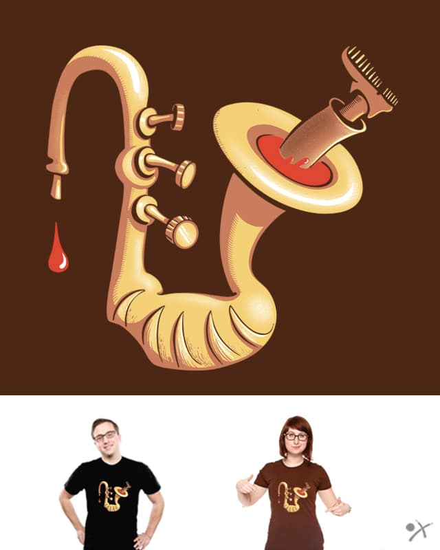 Wild saxophone by chobotjox on Threadless