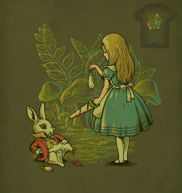 Alice's Lucky Rabbit Foot by ben chen on Threadless