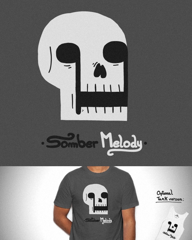 Somber Melody by micheleficeli on Threadless