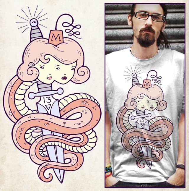 two headed snake by sweet n sour on Threadless
