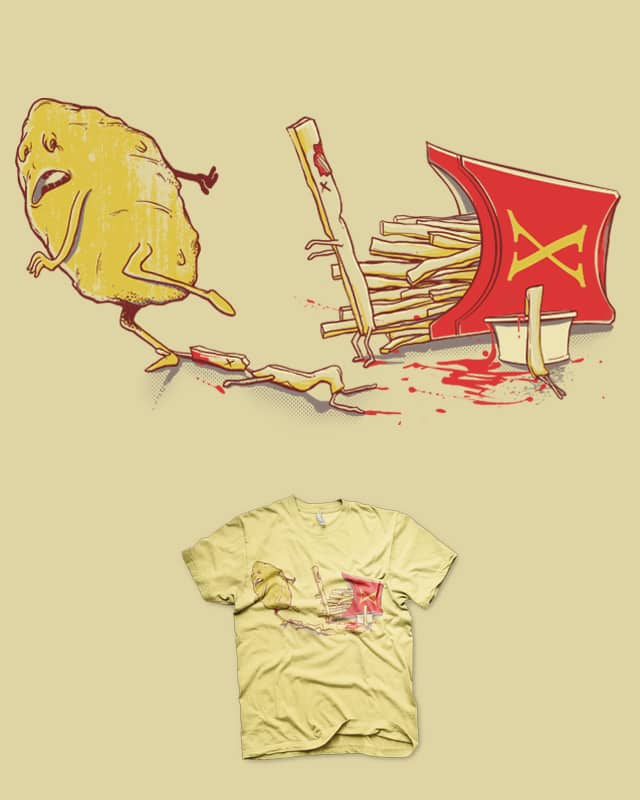 French Fried Zombies by iamrobman on Threadless
