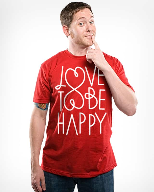 happiness by paulobbruno on Threadless