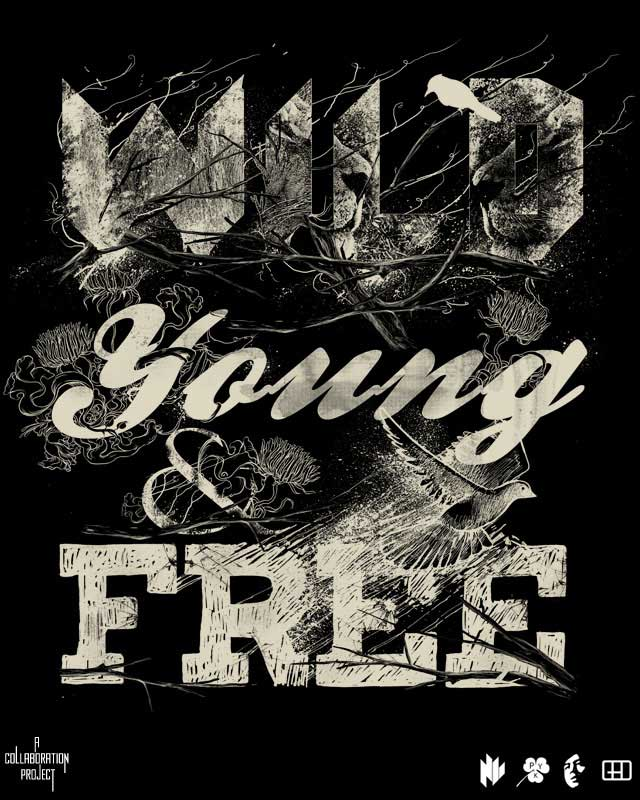 WILD, YOUNG & FREE by gedsalazargarcia on Threadless