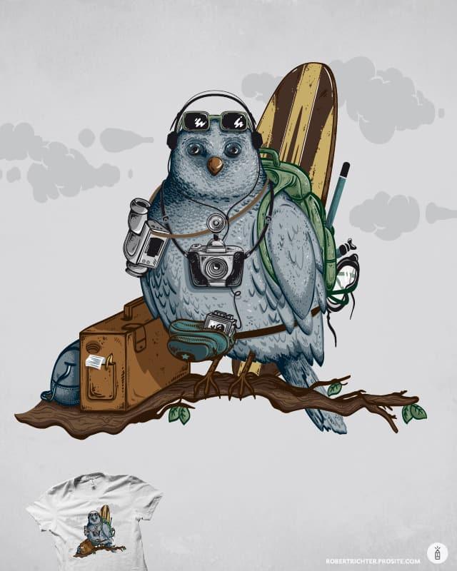Traveler by Robert_Richter on Threadless