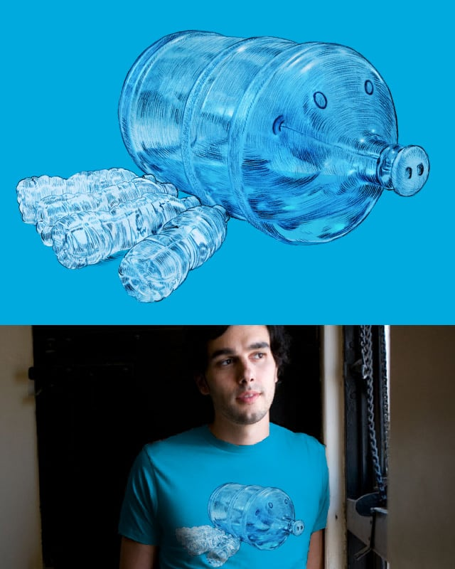 Water Hog (remake) by opifan64 on Threadless