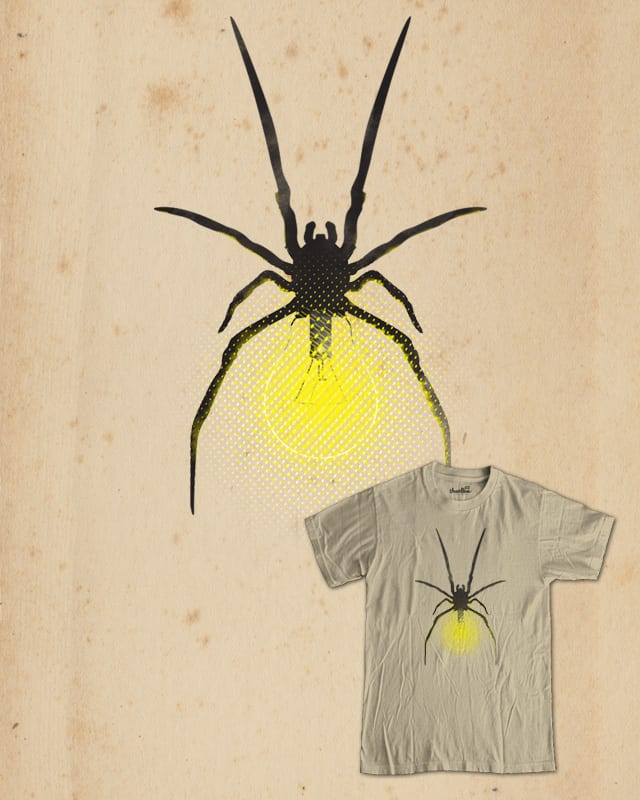 spider bulb by mxnx on Threadless