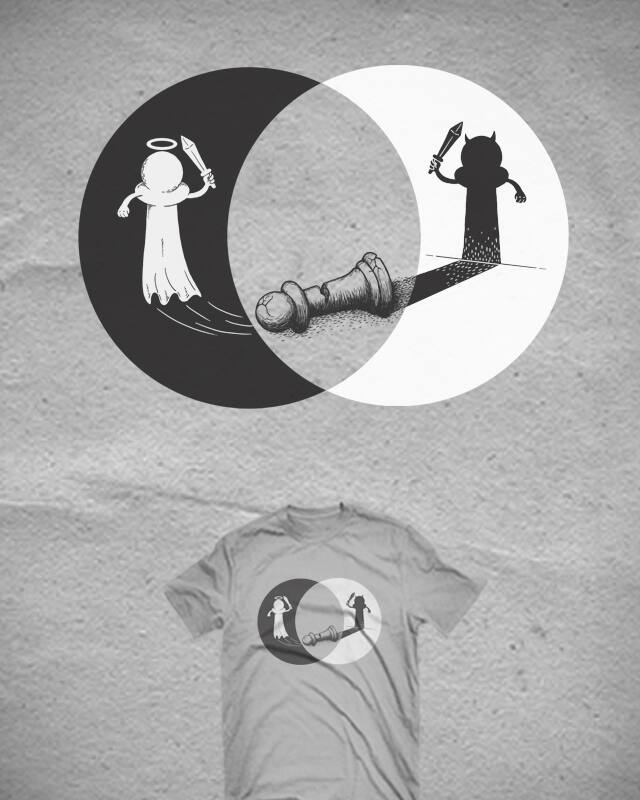 Balance of Life by Stereomode on Threadless