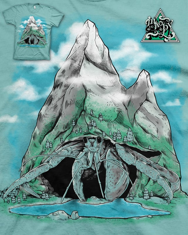 The Mountain Hermit by nikoby on Threadless