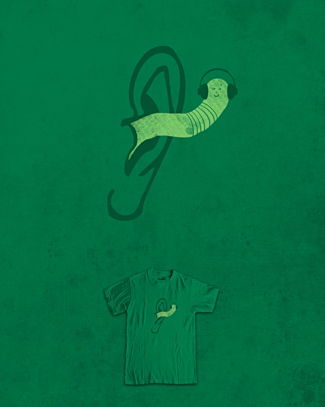 earworm by jerbing33 on Threadless