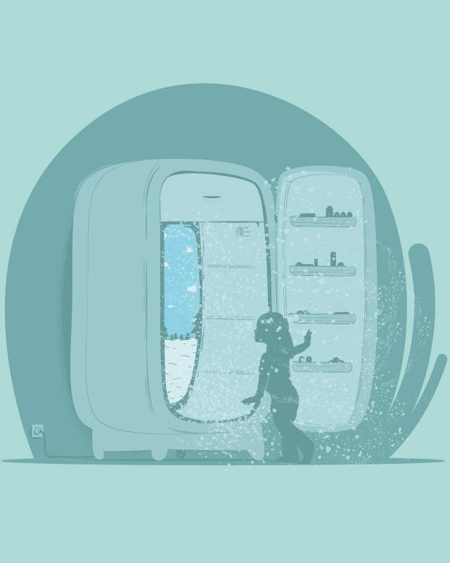 Beyond the fridge by Naniiii on Threadless