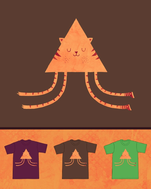 Tiny Tiger Leaping Light by againstbound on Threadless