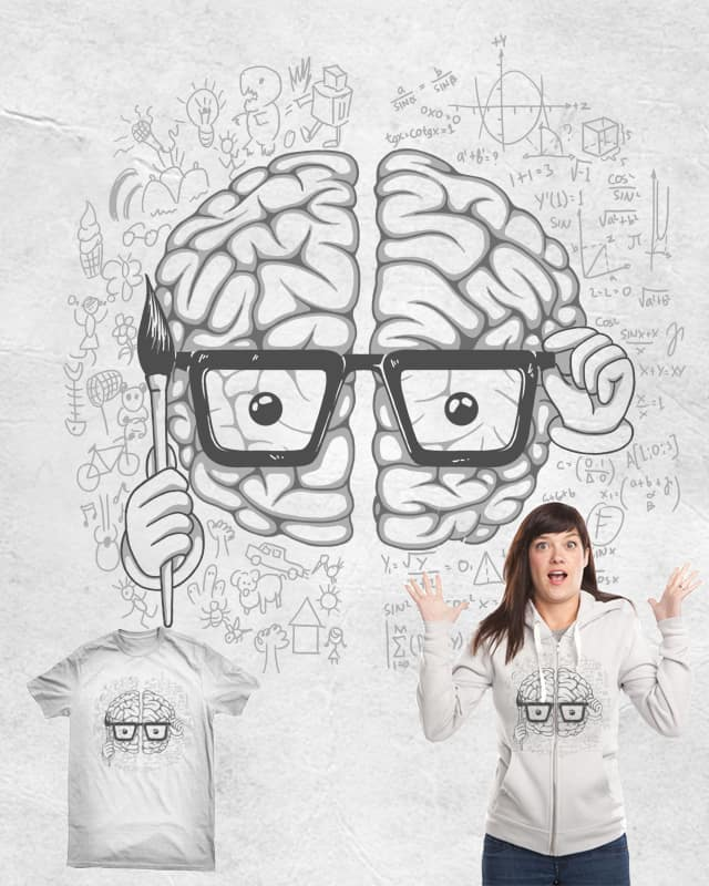 Mr. Brain by Stereomode on Threadless
